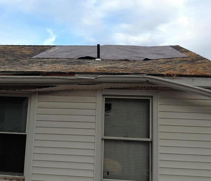 Hurricane damage to New Milford, CT roof After