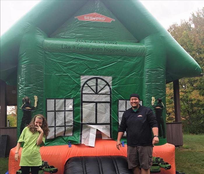 SERVPRO Bouncy House at the Warren, CT Fall Festival
