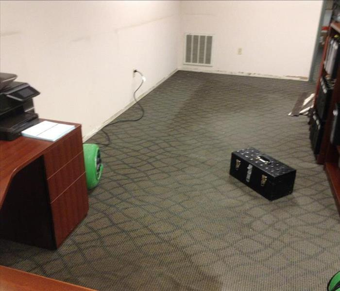 Commercial Office Water Damage New Fairfield, CT