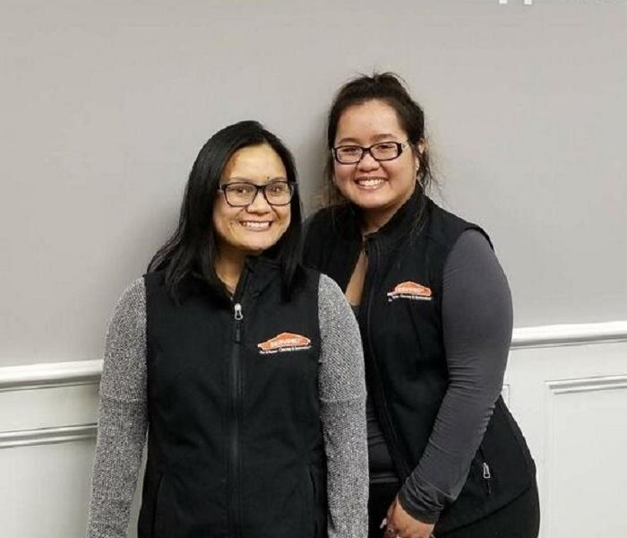 Why SERVPRO Meet the Team: Theny Hovey and Alexis Phouadara