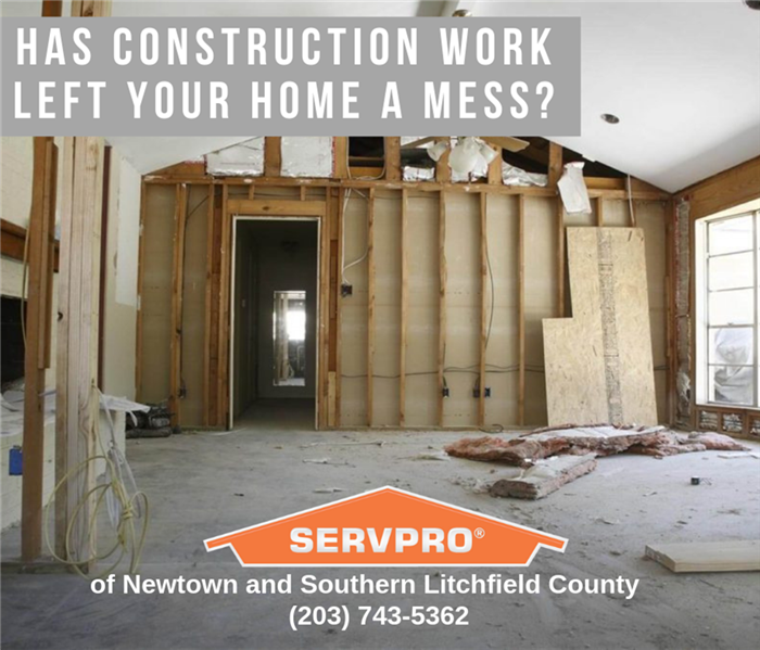 Cleaning Post-Construction Cleaning Services Offered By SERVPRO of Newtown and Southern Litchfield County